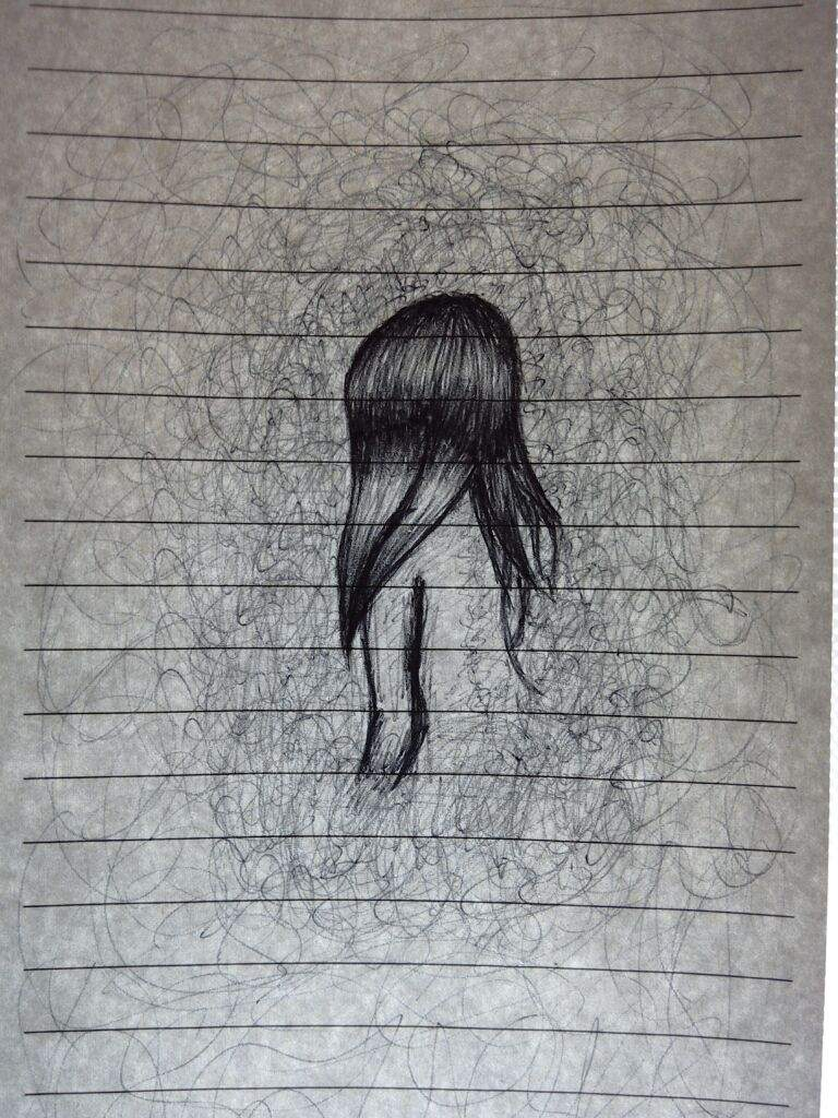 768x1024 Drawing My Personal Feelings (It Allways Help Me ) By Vevusss