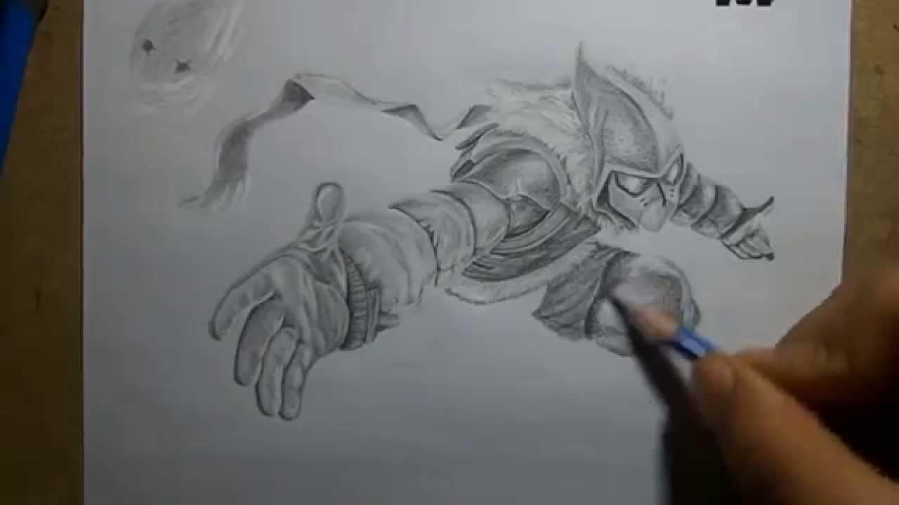 1280x720 Pencil Drawing