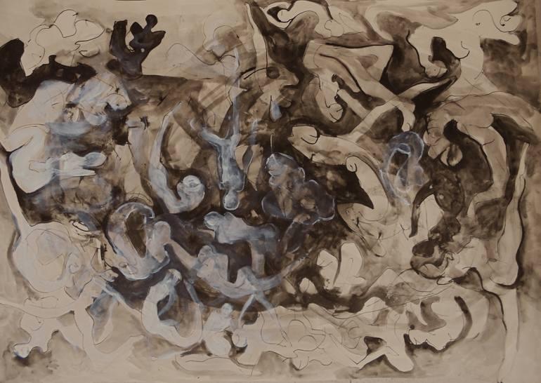 770x546 Saatchi Art Personal Sweet Hell Drawing By Marija Djuric