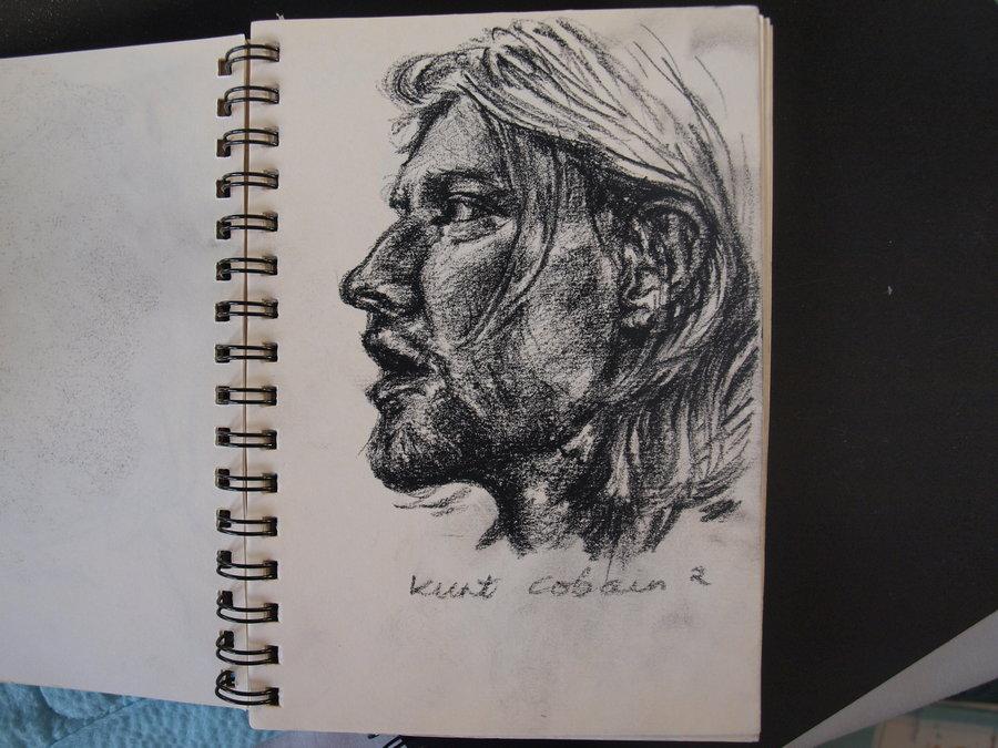 900x675 Drawing Of Kurt Cobain(From Nirvana By Ysmk