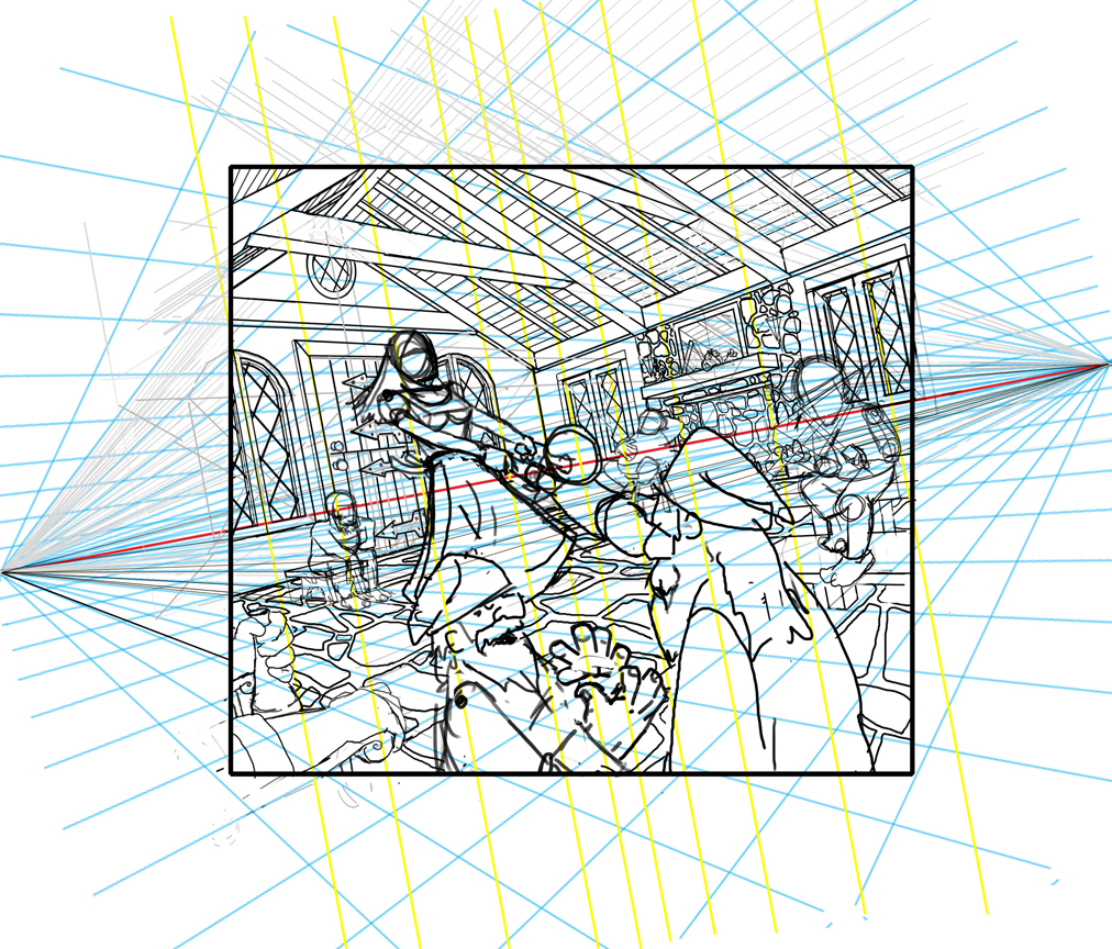 perspective grid drawing at getdrawings com free for personal use