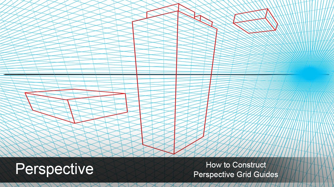 1280x720 Setting Up A Perspective Grid Guide In Photoshop