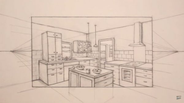 600x338 Draw A Room In Two Point Perspective