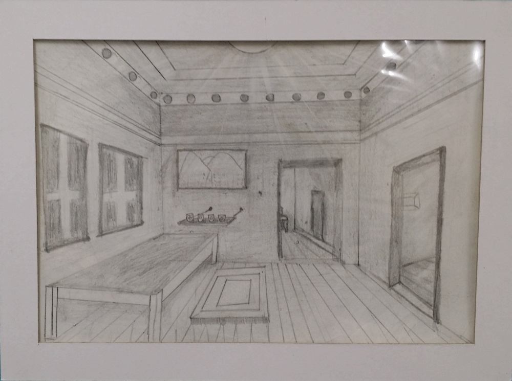 1000x745 Year 789 One Point Perspective Drawing Disco Room Creative Arts