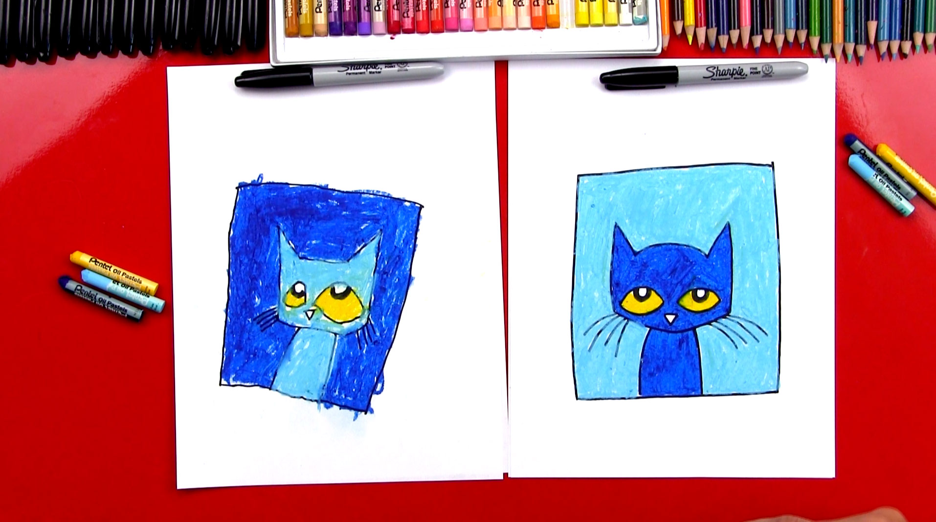 1914x1069 How To Draw Pete The Cat