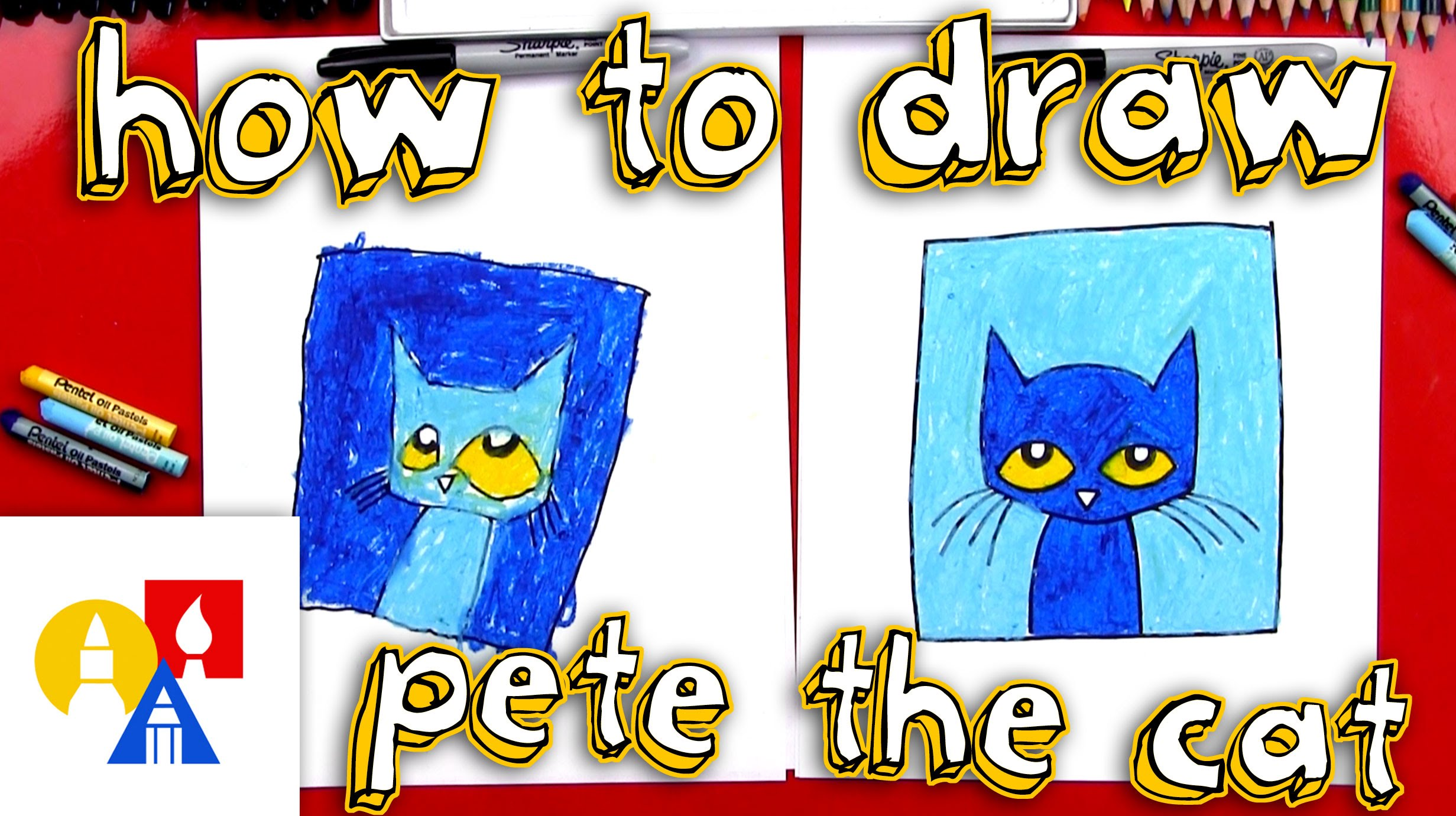 2463x1381 How To Draw Pete The Cat