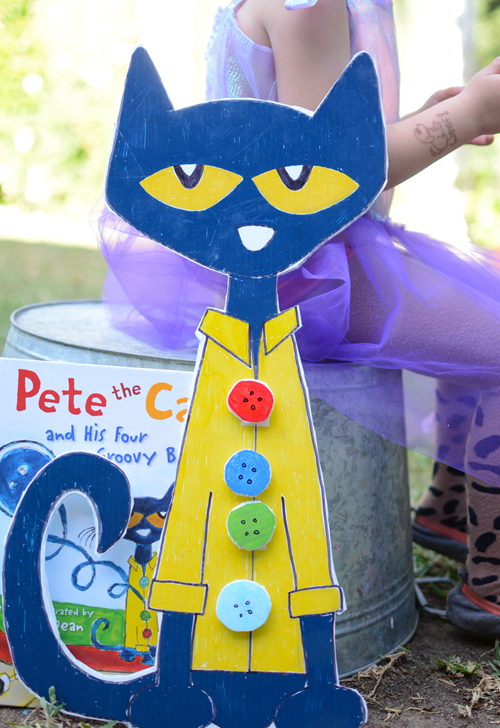 500x728 Make Pete The Cat And His Four Groovy Buttons
