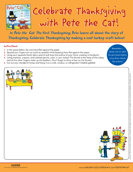 540x699 Pete The Cat The First Thanksgiving Drawing Pete The Cat