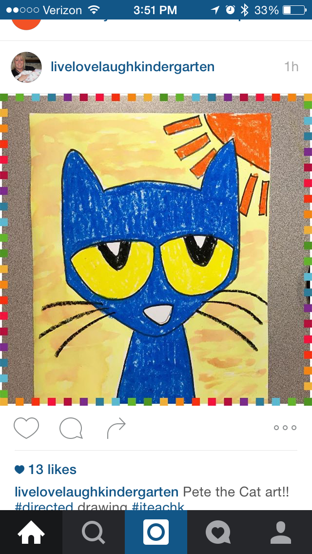 640x1136 Pete The Cat Directed Drawing K Book Pete The Cat