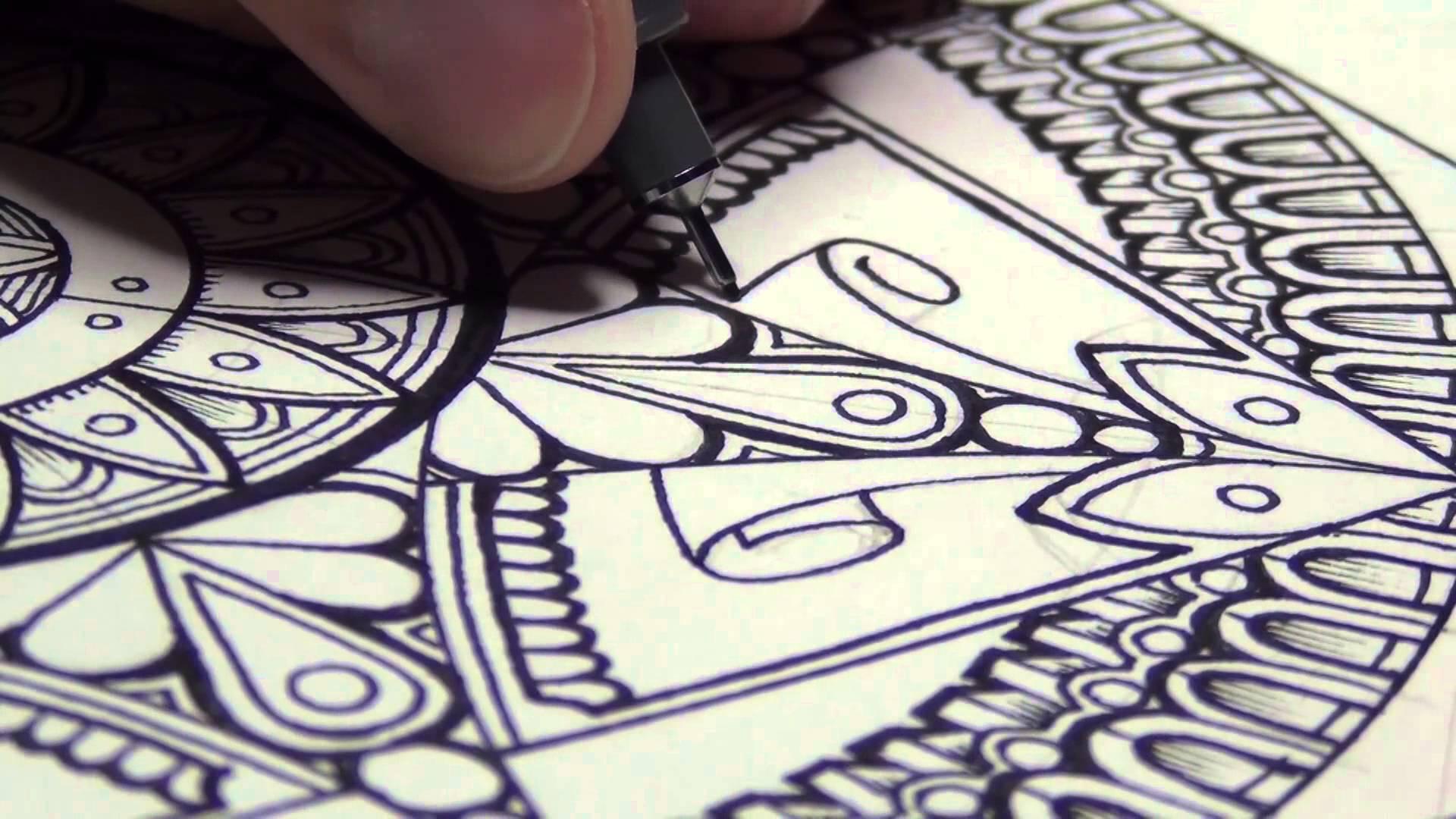 1920x1080 A Mandala (And Drawing Mindsets)
