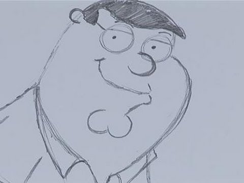 480x360 How To Sketch Peter Griffin