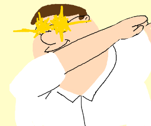 300x250 Peter Griffin Dabbing