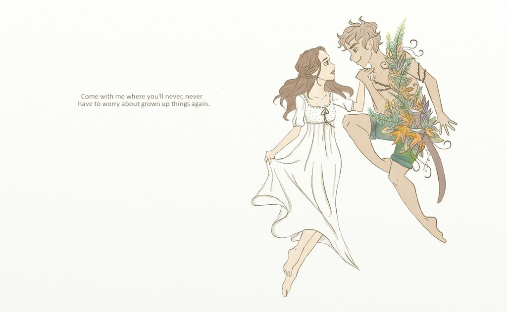 1024x631 Peter Pan And Wendy