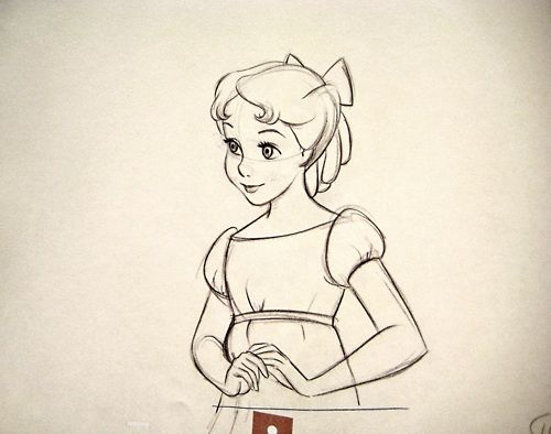 Peter Pan And Wendy Drawing at GetDrawings.com | Free for personal ...