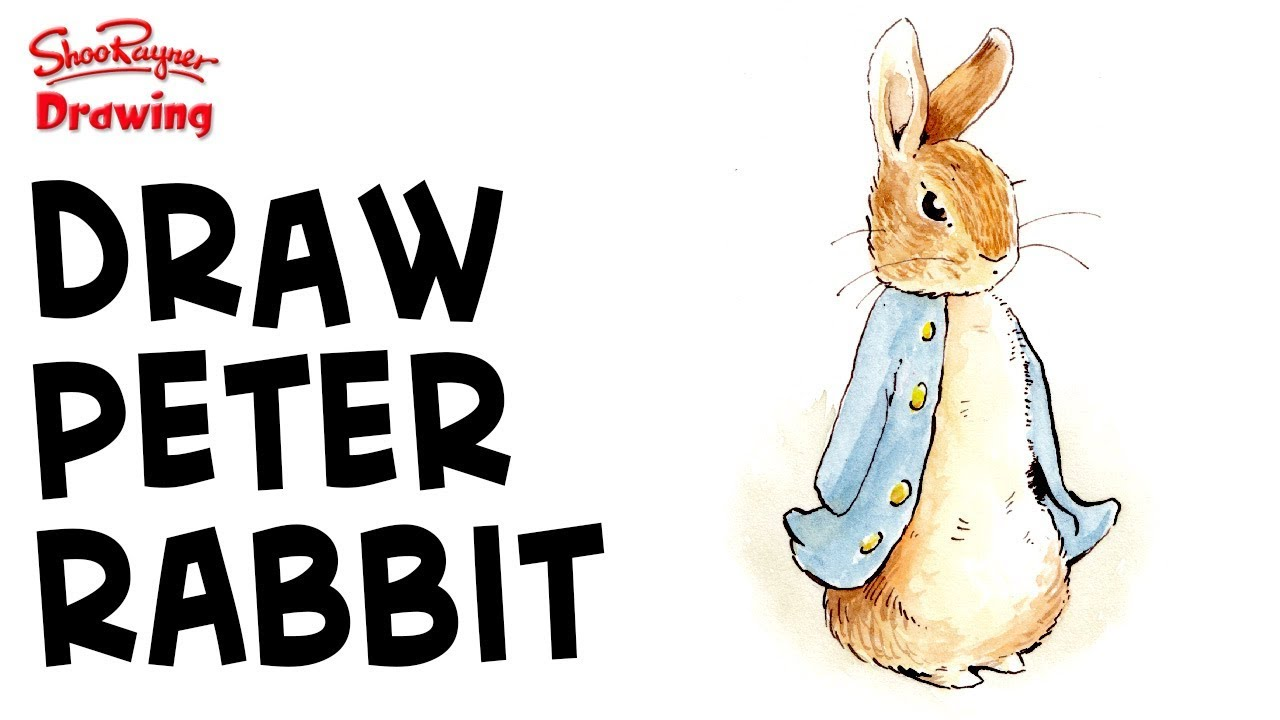 1280x720 How To Draw Amp Paint Peter Rabbit Like Beatrix Potter