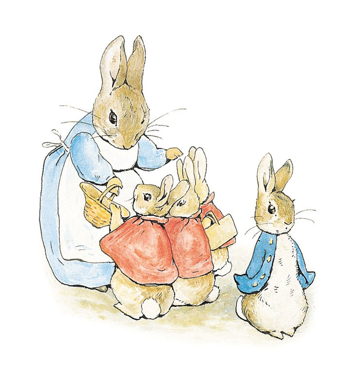740x800 Long Lost Beatrix Potter Drawings Discovered