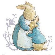 236x236 Simple Line Drawing Peter Rabbit