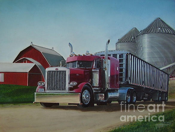 Peterbilt Drawing at GetDrawings.com | Free for personal use ...
