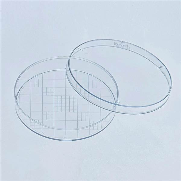 600x600 Germ Counter Petri Dish 94x16 Sterile School Science Equipment