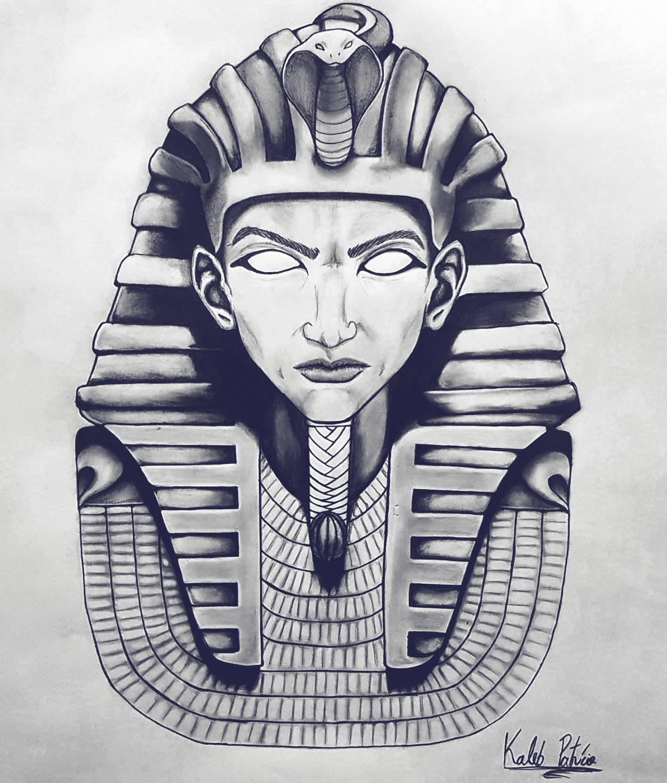1134x1332 Pharaoh Egypt Egito Esfinge Draw Desenho. Kaleb