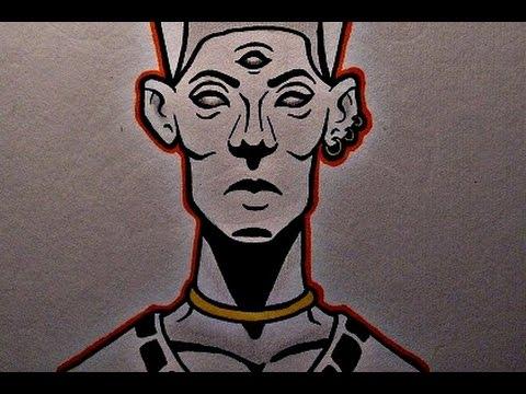 480x360 How To Draw A Pharaoh Head