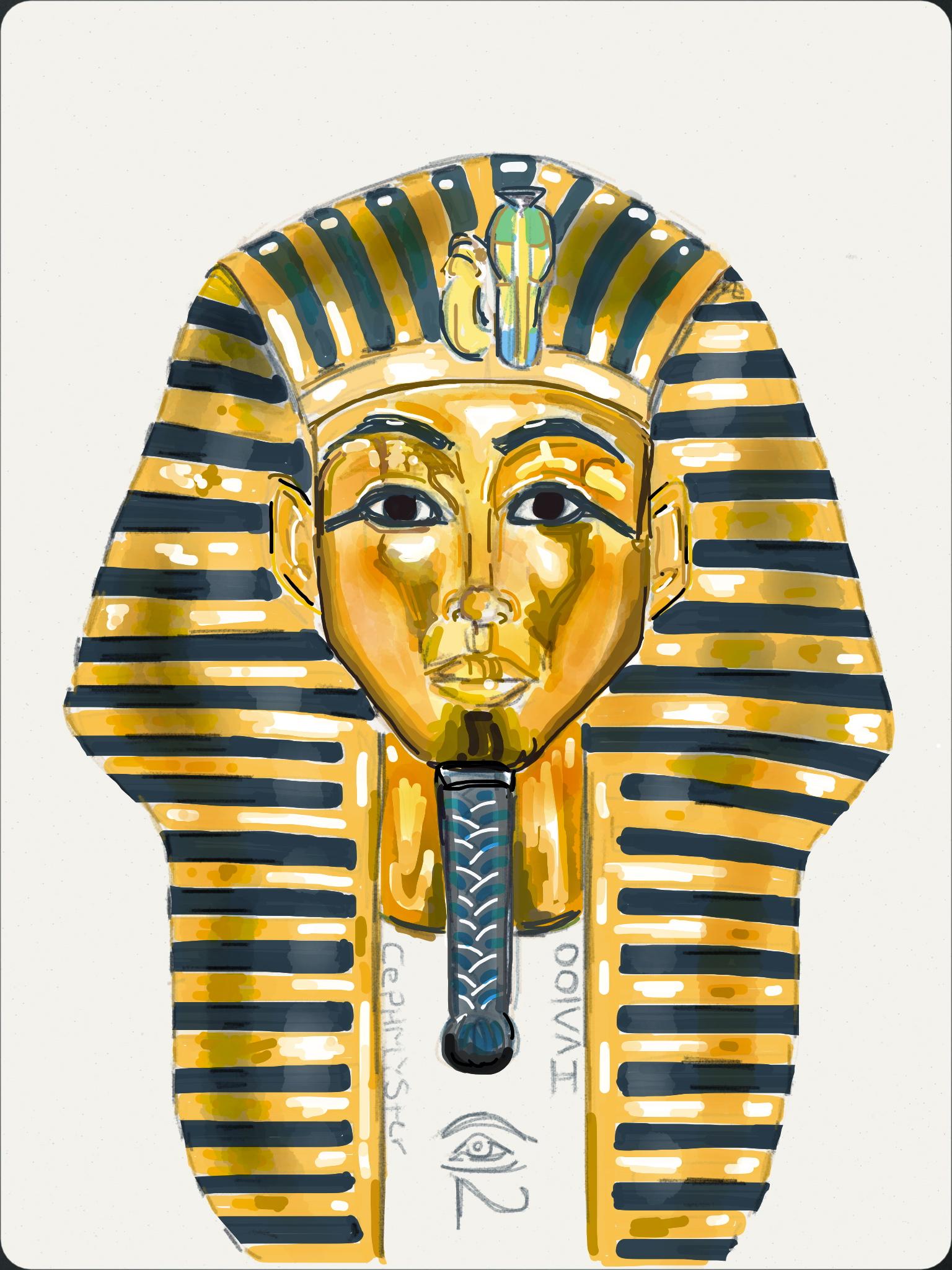 1536x2048 Pharaoh's Head By Cephmyster