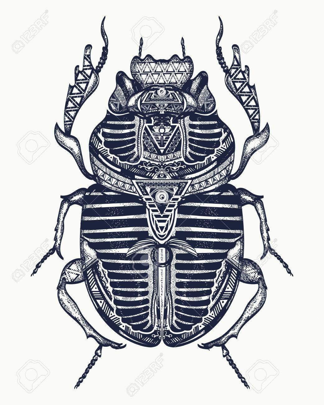 1040x1300 Scarab Tattoo, Ancient Egypt Art. Spiritual Symbolof Pharaoh