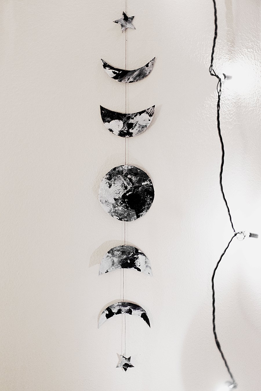900x1350 Diy Moon Phases Garland Aloha Gaia