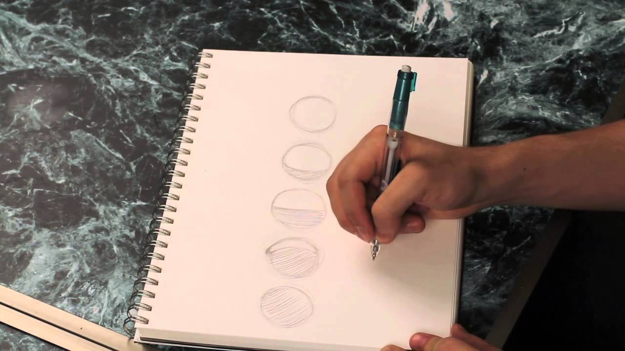 1280x720 How To Draw The Phases Of The Moon