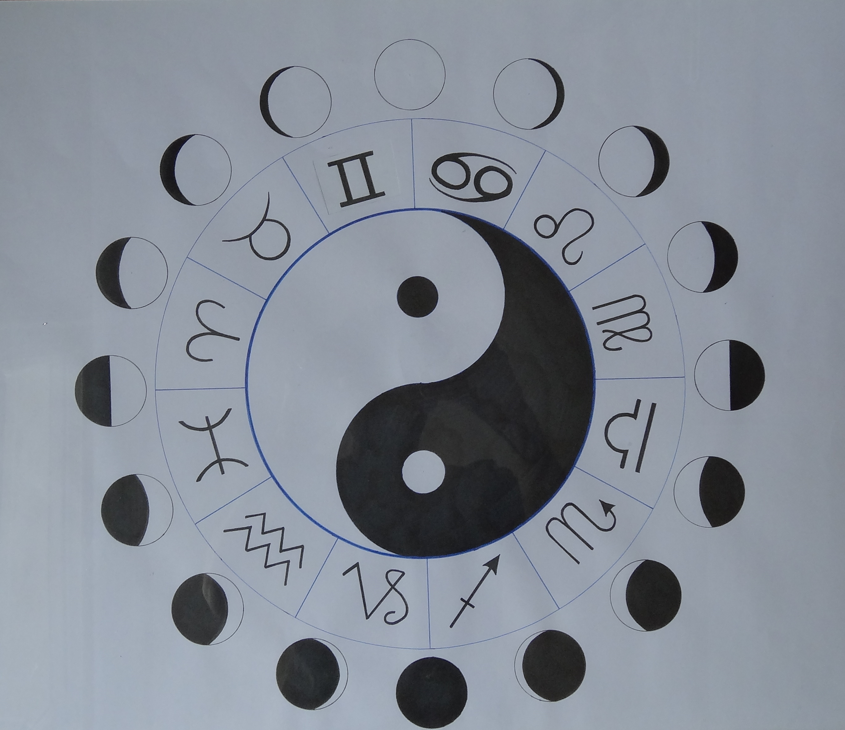 2739x2364 Yin Yang And The Phases Of The Moon Oka Fala