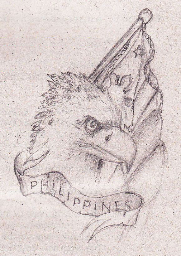 581x821 Philippine Eagle By Earlazarcon