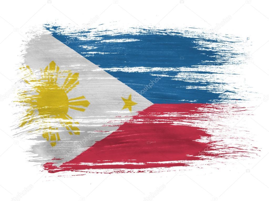 1024x768 Philippine Flag On White Background Stock Photo AC Olesha