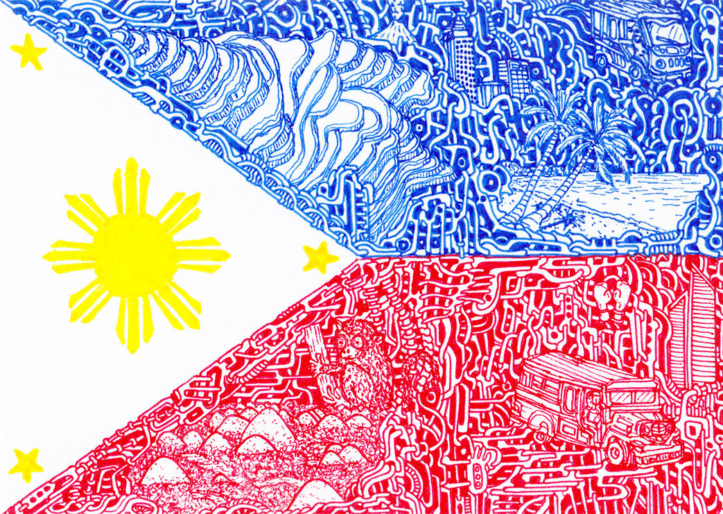 1043x741 Of National Flags Philippines