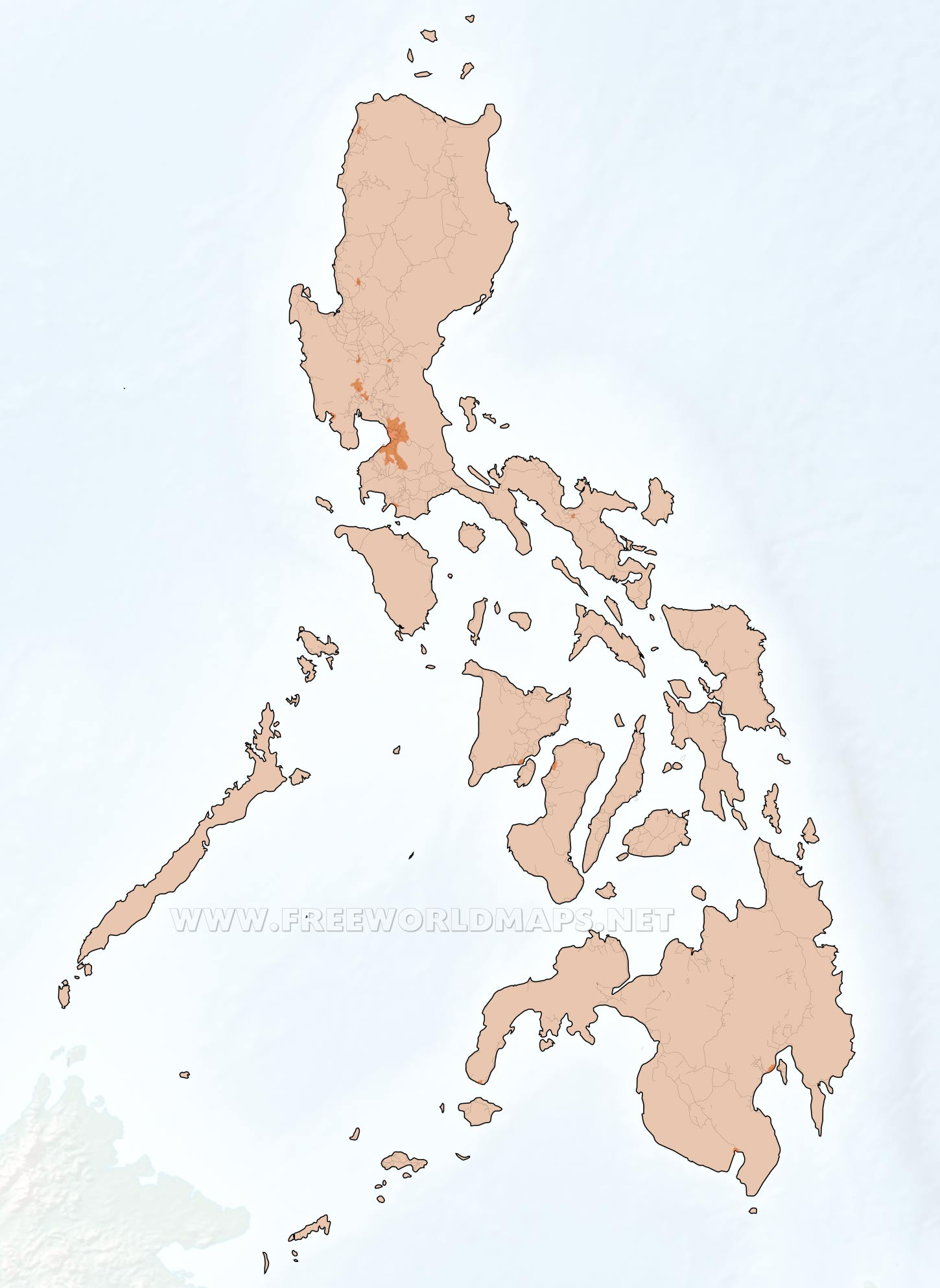 Philippine Map Drawing at GetDrawings.com | Free for personal use ...