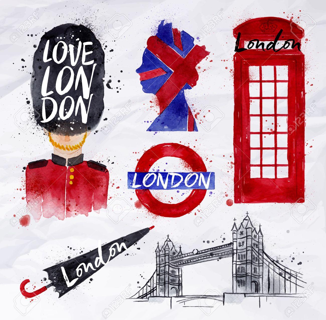 1300x1278 London Symbols Phone Booth, Umbrella, Underground, Tower Bridge