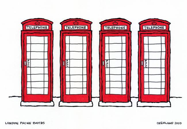 650x450 London Phone Booths By Stacey Creek