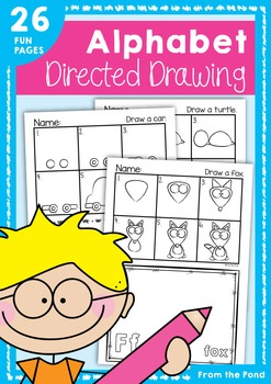 247x350 Alphabet Directed Drawing Printable Worksheets, Phonics