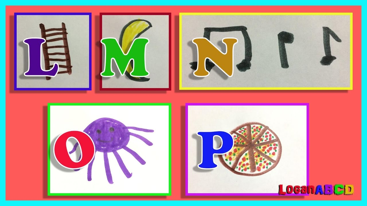 1280x720 Learning Abc Phonics Drawing With Color Markers L P
