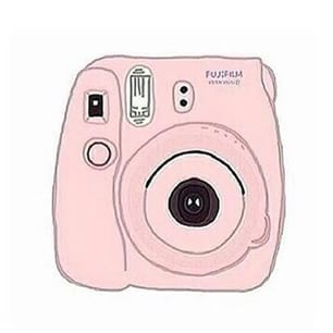 306x306 Illustration By Ann Fujifilm Instax Mini 8 White Camera Www