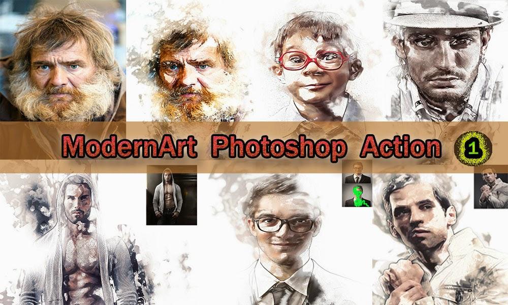 1000x600 Art Photoshop Actions