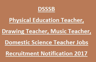 320x209 Dsssb Physical Education Teacher, Drawing Teacher, Music Teacher