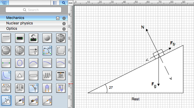 653x363 Drawing Physics Illustrations Conceptdraw Helpdesk