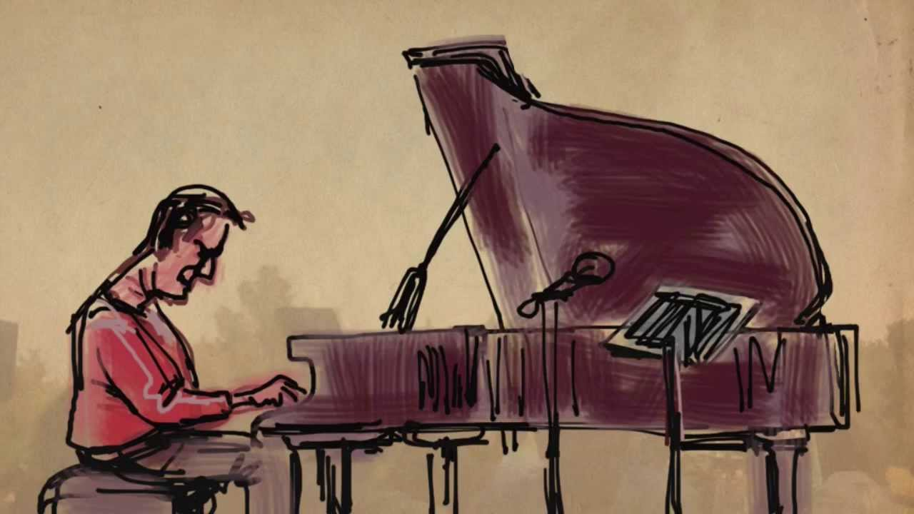 1280x720 Live Digital Drawing By Bill Russell Jazz Pianist Alan Pasqua