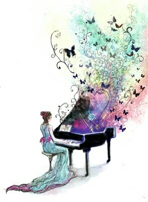 294x400 Music In The Air Music Pretty Drawings, Art Folder