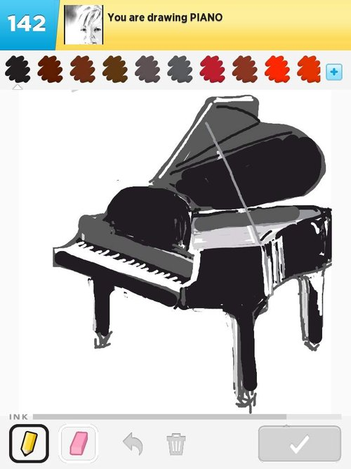 500x667 Piano Drawings