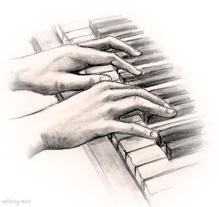 432x409 The Role Of The Concert Pianist Hand Illustration, Illustrations