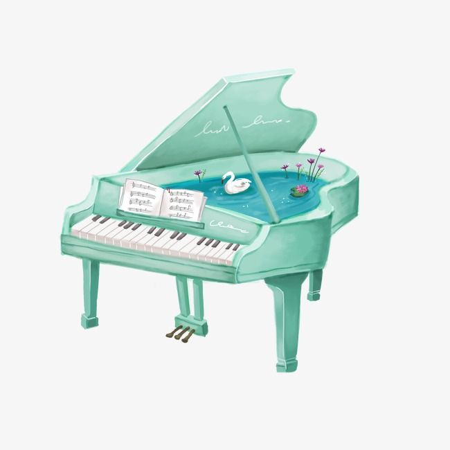 650x650 Cartoon Drawing Piano, Mint Piano, Drawing Piano, Cartoon Png