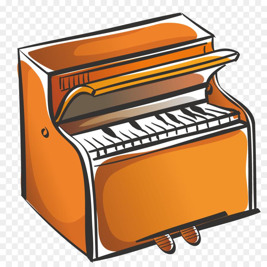 900x900 Piano Cartoon Drawing Clip Art