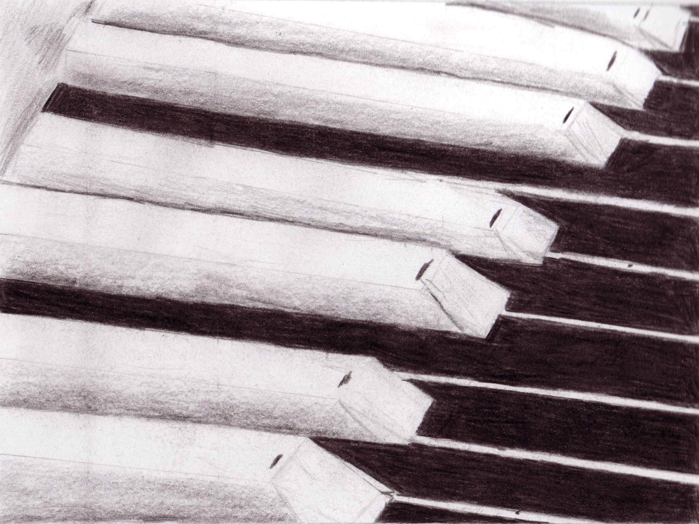 2365x1775 Piano Keys Contemplative Certainty