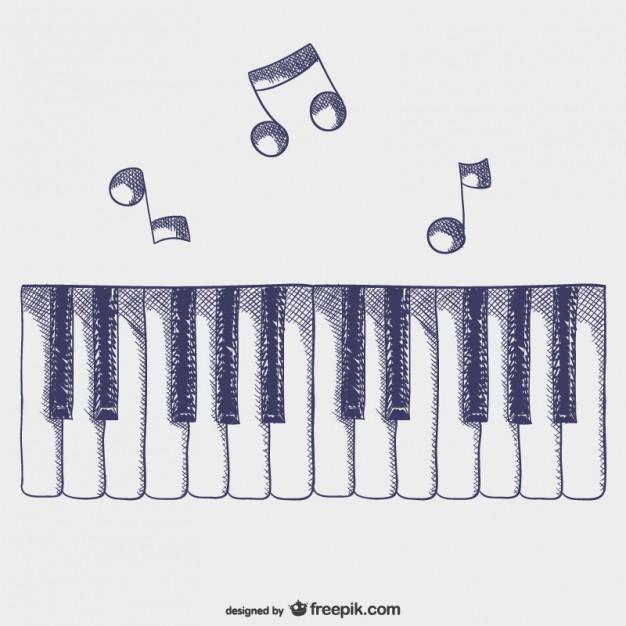 626x626 Piano Keys Vectors, Photos And Psd Files Free Download
